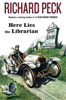 Book cover- Here Lies the Librarian