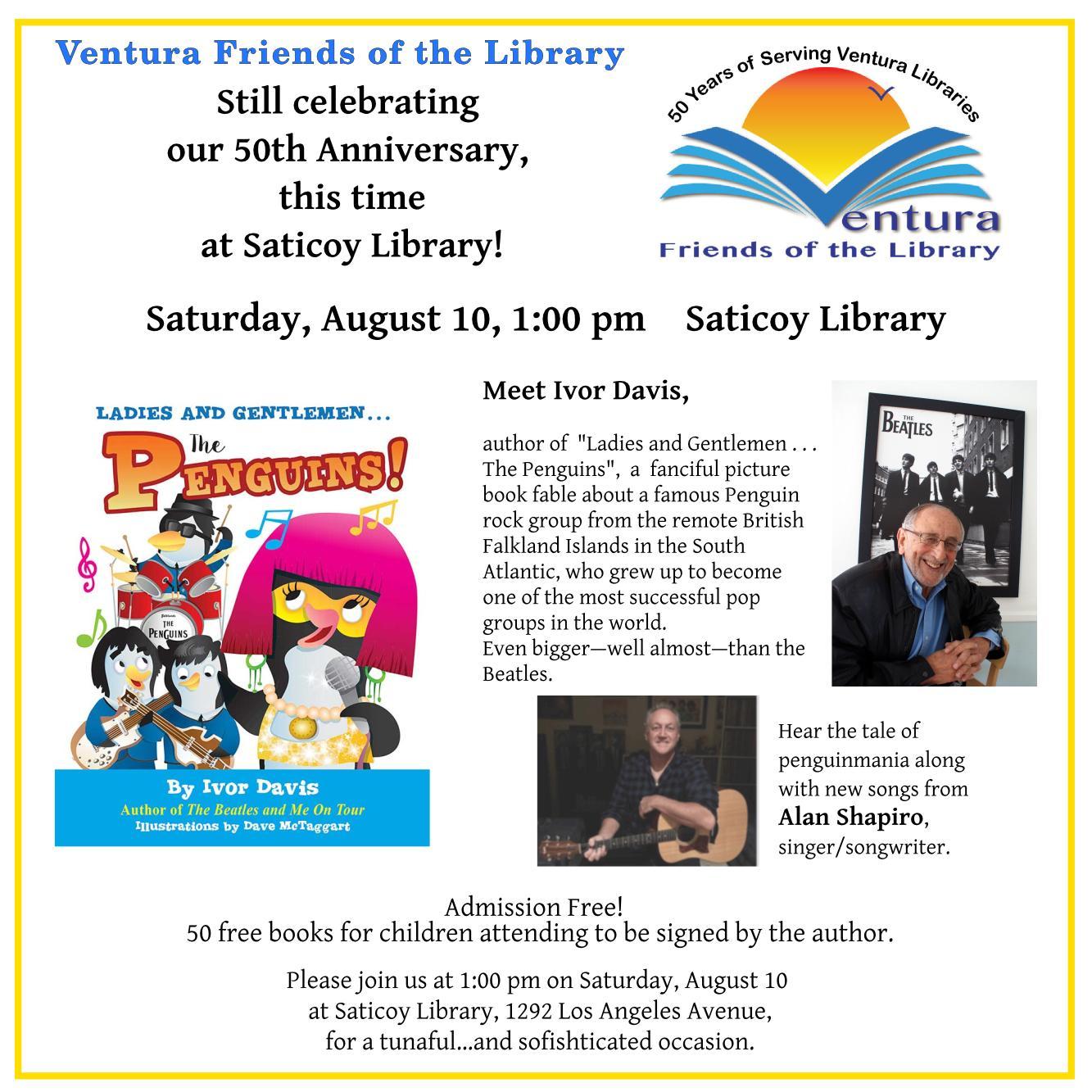 Saticoy – Ventura FOL 50th Anniversary Celebration with Ivor