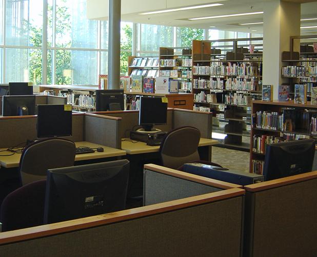 Oak Park Library computer lab