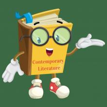 Image of Cartoon Book Speaking