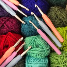 colorful yarnscape