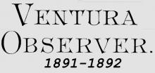 Ventura Observer Logo